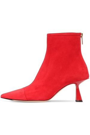 Jimmy choo 65mm Kix Suede Ankle Boots
