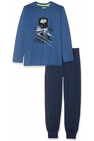 Sanetta Boy's Pyjama Long Set, (Ink 50096)