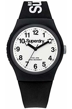 Superdry Unisex Analogue Quartz Watch with Silicone Strap SYG164BW