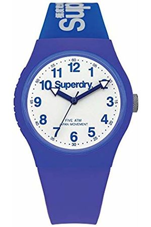 Superdry Unisex Analogue Quartz Watch with Silicone Strap SYG164U