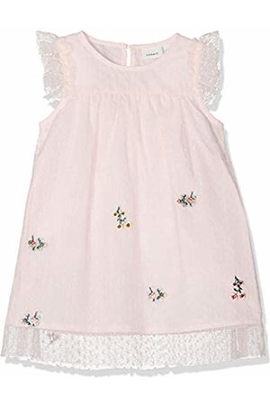 Name it Baby Girls' Nbfhussa Tulle Capsl Dress Strawberry Cream