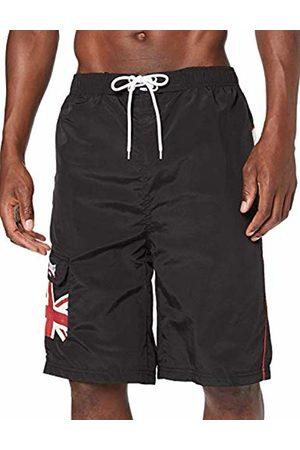 Lonsdale London Men Swim Shorts - Men's Swimming Shorts - - Large