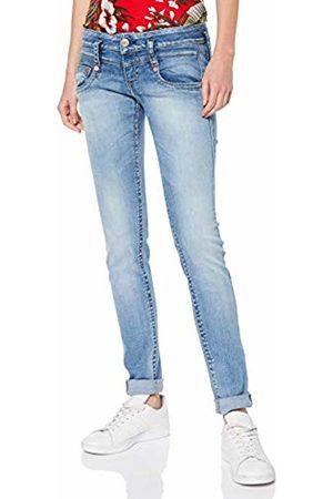 Herrlicher Women's Pitch Slim Jeans, (Navy 032)
