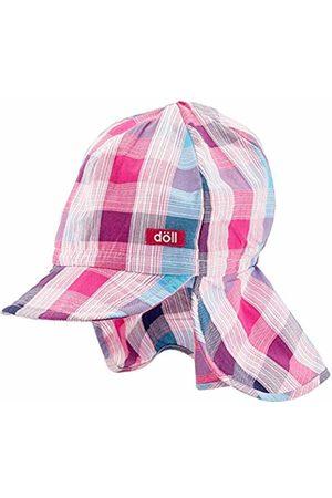 Döll Girl's Baseballmütze Mit Nackenschutz Cap, (Beetroot |