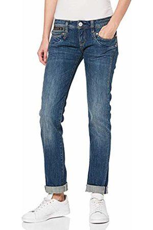 Herrlicher Women's Piper Denim Straight Jeans, (Bracing 827)