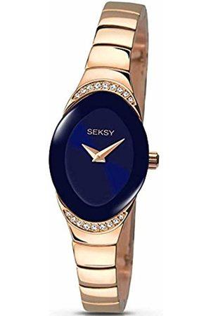 Sekonda Womens Analogue Classic Quartz Watch with Brass Strap 2306.37