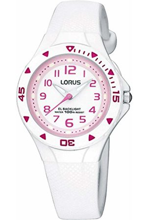 Lorus Unisex-Child Analogue Classic Quartz Watch with PU Strap R2335DX9