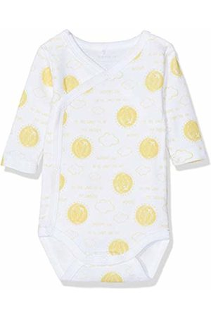 Name it Baby Nbnurbanha Ls Wrap Body Footies, Bright