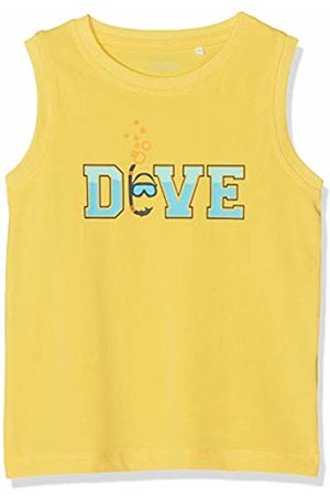 Name it Baby Boys' Nmmvux Sl Top H T-Shirt, Daffodil