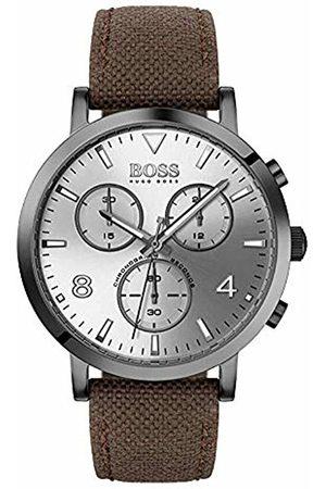 HUGO BOSS Mens Chronograph Quartz Watch with Nylon Strap 1513690
