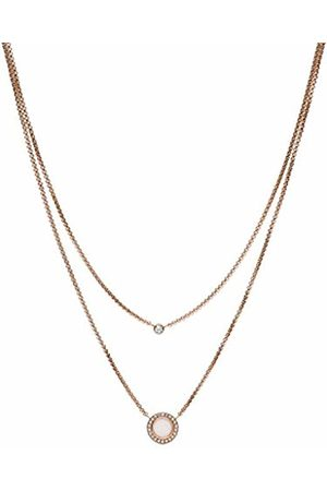 Fossil Women Stainless Steel Pendant Necklace - JF03057791