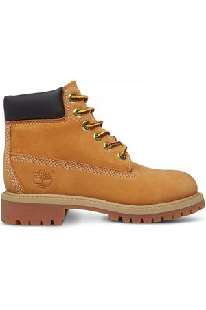 Timberland Premium 6 inch boot for youth in kids, size 12.5