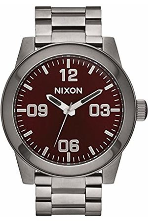 Nixon Mens Analogue Classic Quartz Watch with Stainless Steel Strap A346-2073