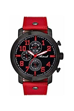Antoneli Unisex Adult Analogue Quartz Watch with Leather Strap AG9298-04