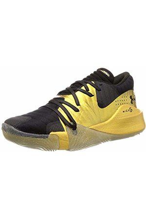 Under Armour Spawn Low Men's Basketball Shoes, Metallic 003