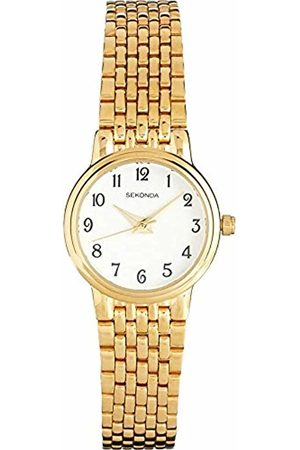 Sekonda Women's Quartz Watch with Dial Analogue Display and Stainless Steel Bracelet 4090.27