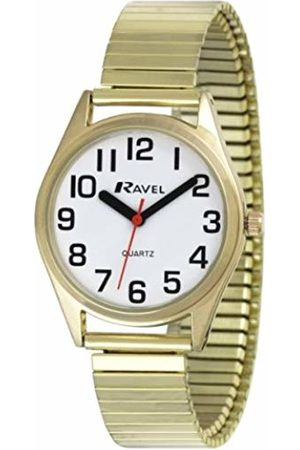 Ravel Unisex-Adult Analogue Classic Quartz Watch with Stainless Steel Strap R0225.02.2