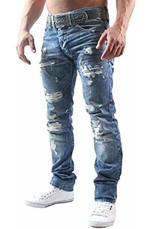 Redbridge Men's Straight Jeans - - Blau - 36W/32L (Brand size : 36/32)