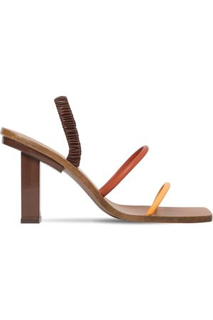 Cult Gaia Women Sandals - 70mm Kaia Leather Sandals