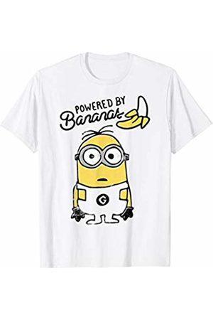 Minions Minions Powered By Bananas Portrait T-Shirt