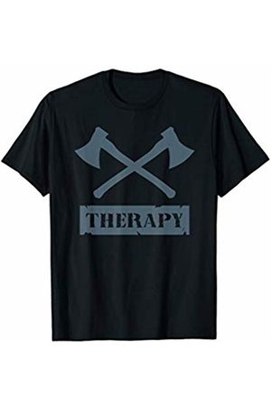 Axe Thrower Tees by Mabe's Shirts Men T-shirts - Axe Throwing Birthday Gift Tshirt Hatchet Therapy Cool Sport T-Shirt