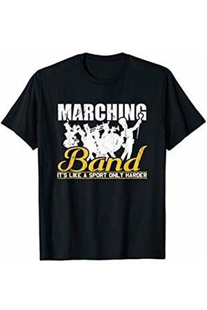 Music Shirts By Ark Marching Band Its Like A Sport Only Harder Music Player Gift T-Shirt