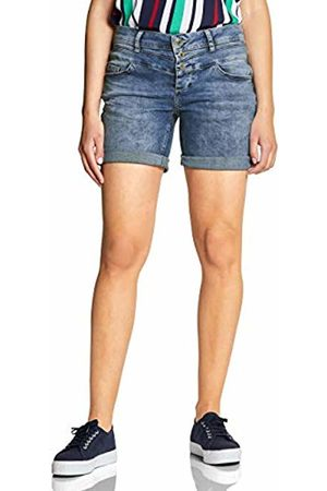 Street one Women's 372327 Kate Bermudas mid Authentic Washed 11909