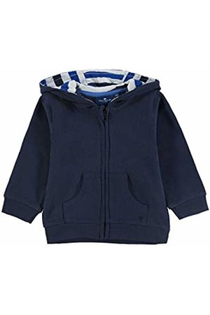 Tom Tailor Baby Boys' Sweatjacket Placed Print Sweat Jacket, (Navy Blazer|