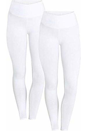 Berydale Hochbund Leggings, Weiß, 14 (Size: Large)
