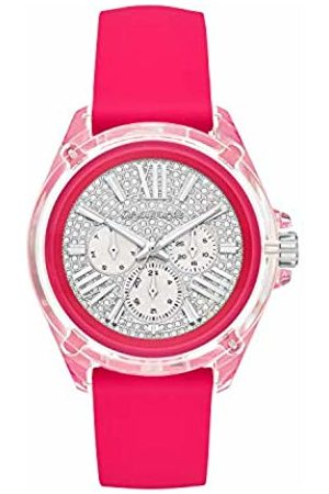 Michael Kors Womens Analogue Quartz Watch with Silicone Strap MK6677