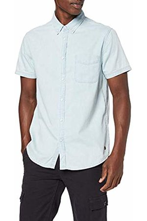 Mustang Men's 1/2slv_1/p_k Casual Shirt