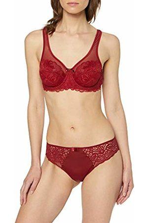 Dim Women's Slip SUBLIM Dentelle Panties, (Rouge Cherry 8ou)