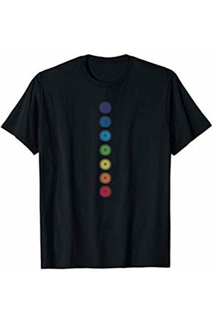 Buy Cool Shirts Colored Chakras T-Shirt