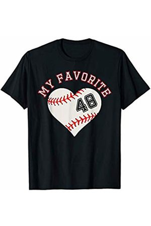 Baseball Player My Favorite Star Fan Shirt Gifts Baseball Player 48 Jersey Outfit No #48 Sports Fan Gift T-Shirt