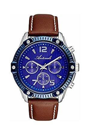 Antoneli Unisex-Adult Analogue Classic Quartz Watch with Stainless Steel Strap ANT1003