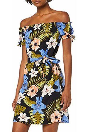 Vero Moda Women's Vmefie Milo Off Shoulder Short Dress WVN (Night Sky AOP: Efie)