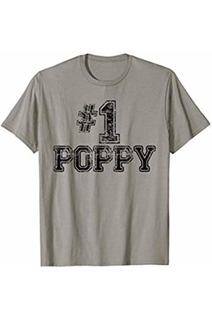 Number One #1 Family Gift Tees #1 Poppy - Number One Sports Father's Day Gift T-Shirt