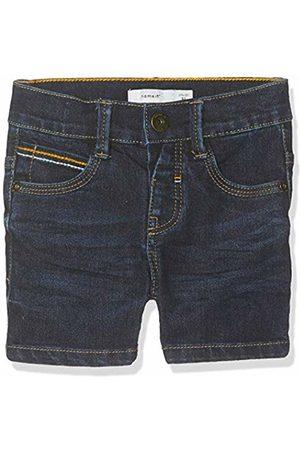 Name it Baby Boys' Nmmsofus Dnmabamir 3205 Long Shorts Dark Denim