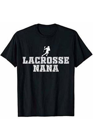 Lacrosse Nana Women Apparel Lacrosse Nana Cool Lax Grandma Sports Grandmother T-Shirt
