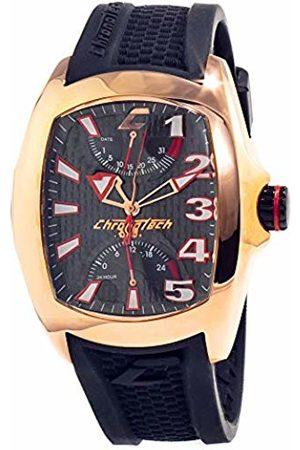 ChronoTech Mens Analogue Quartz Watch with Rubber Strap CT7994M-08