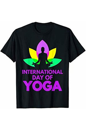 International Day Of Yoga Funny Shirts. International Day Of Yoga T-Shirt Yoga Shirt For Woman & Men T-Shirt
