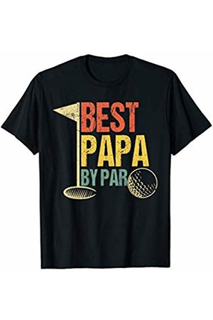 Best Grandpa By Par Funny Golf Sports Tees Mens Funny Father's Day Gift Men Golf Lovers - Best Papa By Par T-Shirt