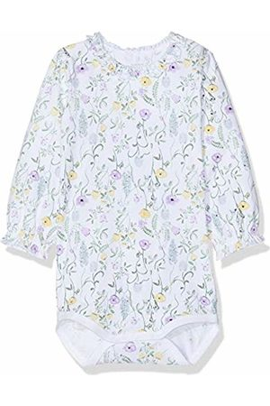 Name it Baby Girls' Nbfhulla Ls Body Footies, Bright