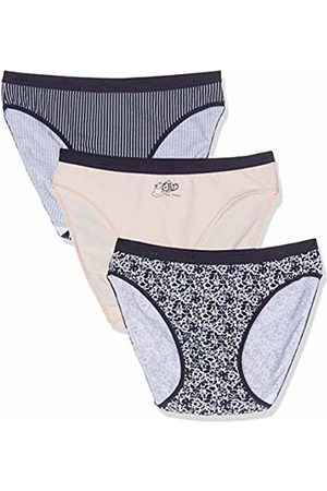 Dim Women's Slip LES Pockets Coton X3 Panties