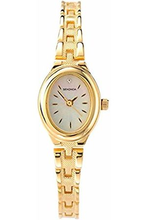 Sekonda Women's Quartz Watch with Mother Of Pearl Dial Analogue Display and Alloy Bracelet 4547.2700000000004