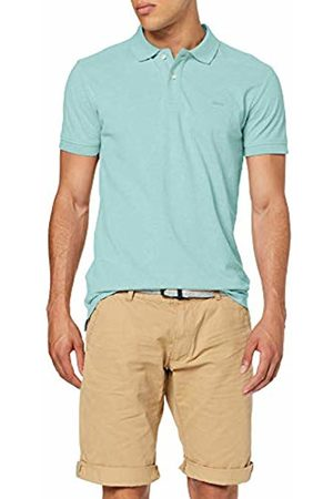 Esprit Men's 069ee2k013 Polo Shirt, Aqua 380