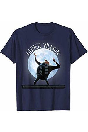 Despicable Me Gru Super Villain Glowing Moonlight Portrait T-Shirt