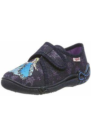 Superfit Girls' Belinda Low-Top Slippers, Blau 80