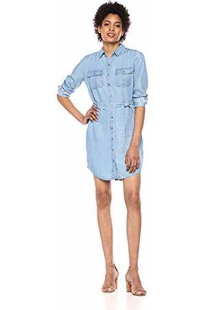 Daily Ritual Tencel Long-Sleeve Utility Dress Jumpsuit
