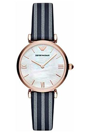 Emporio Armani Womens Analogue Quartz Watch with Leather Strap AR11224